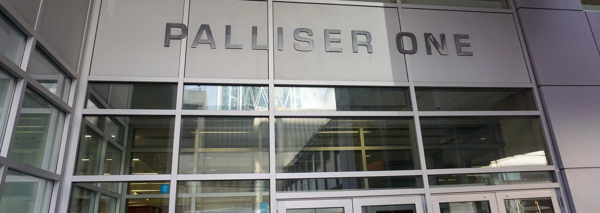 palliser-square-one-entrance-banner